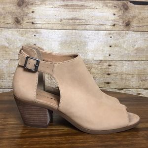 Lucky Brand Shoes - LUCKY BRAND PEEP TOE BOOTIE. EUC SIZE 7M